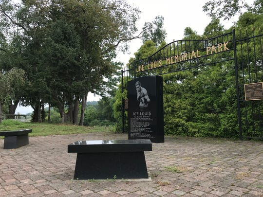 Joe Louis Memorial Park in Pompton Lakes, as seen on Sept. 17, 2018, lies at the edge of a historic site where the famous boxer trained.