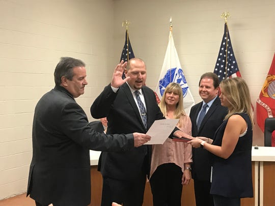 James Rotundo Jr. was promoted to lieutenant of  the Palisades Park Police Department