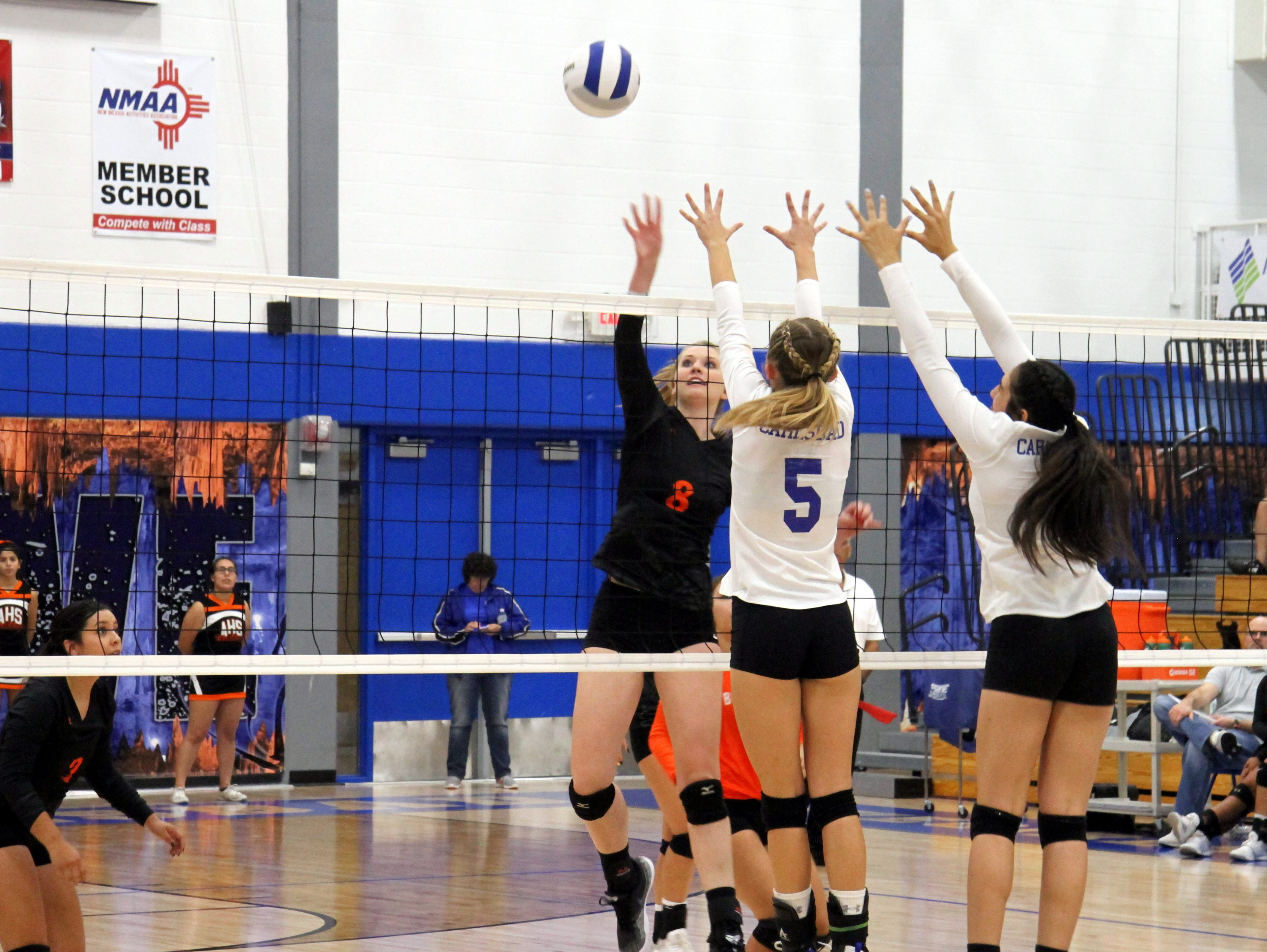 Artesia upset in first round of Class 4A volleyball tournament