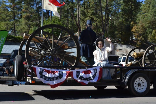 The 2018 Aspen Fest parade is sure to go off with a big boom as locals and visitors line the street of Sudderth Drive having a blast just before the Aspen Fest at Wingfield park Sat. Oct. 6.