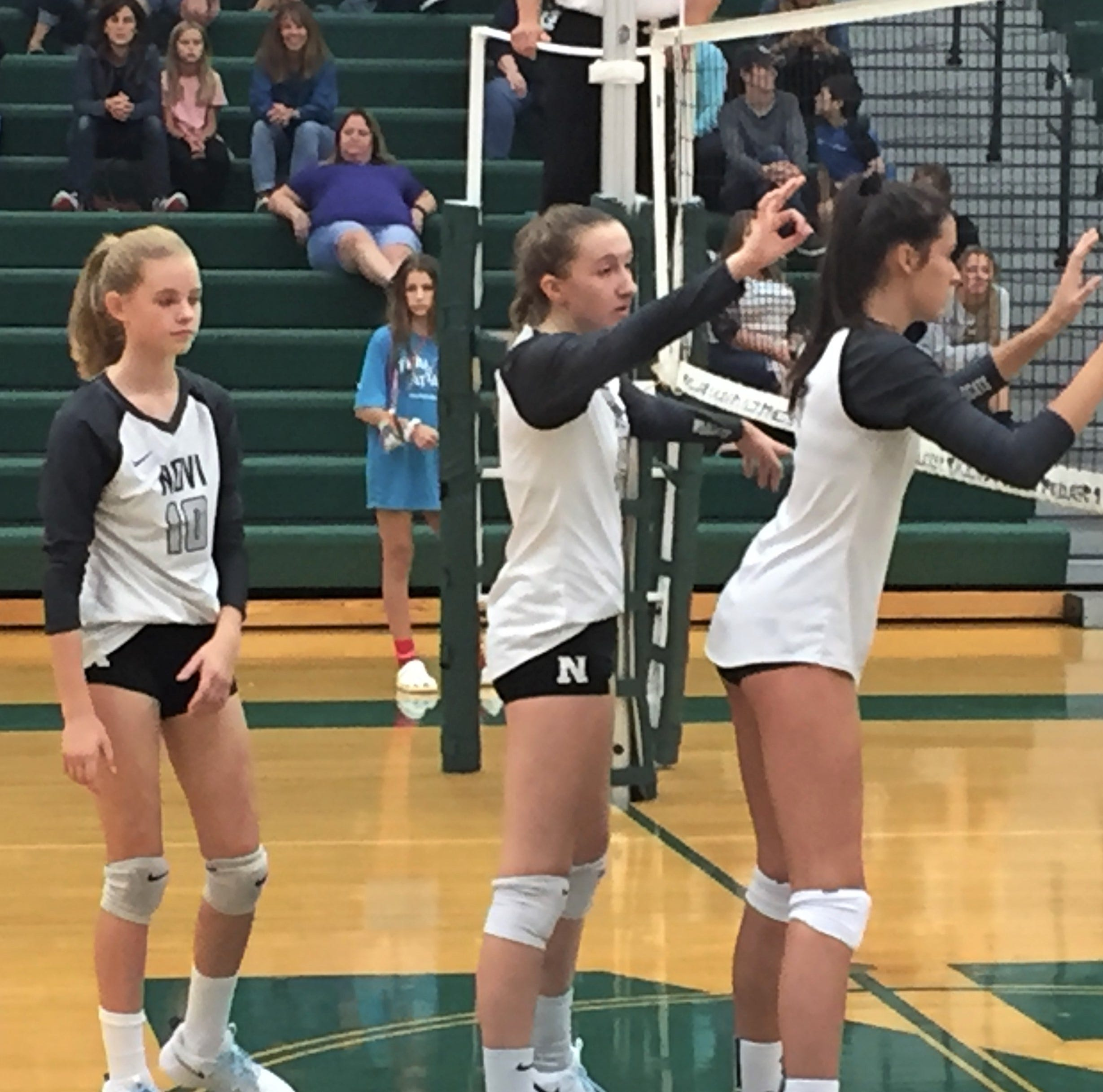 Three-time state volleyball champ Novi not missing a beat with young team