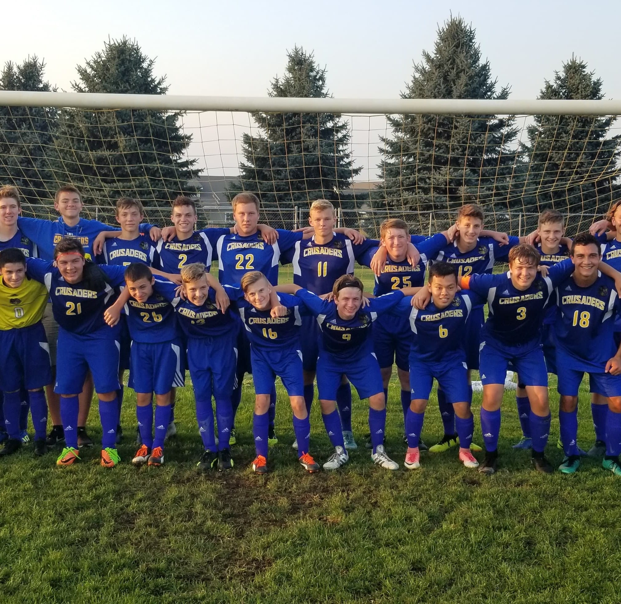 Central Wisconsin Christian boys soccer coach celebrates 300th win with program