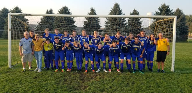 Coach Gregg Zonnefeld celebrated his 300th win with Central Wisconsin Christian's soccer program in September.