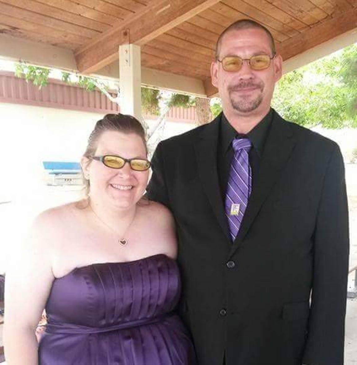 Paul and Misty Warfox married in 2016.