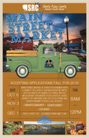 Main Street Milton is bringing back the city's downtown market with the new Main Street Market, which kicks off Oct. 6.