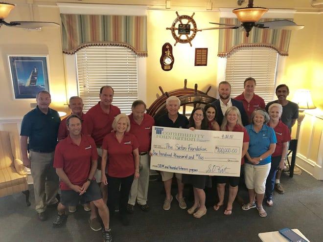 The Community Foundation of Northwest Florida has donated $100,000 to the PYC Satori Foundation.