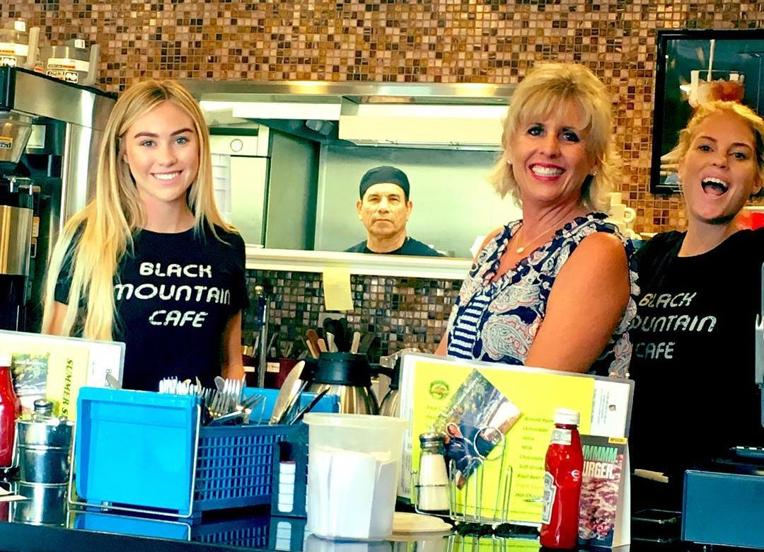 Staff at Black Mountain Cafe in Carefree.