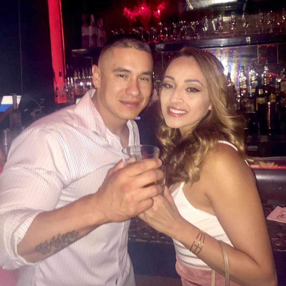 Jovanna and Frank Calzadillas on Aug. 4, 2017.