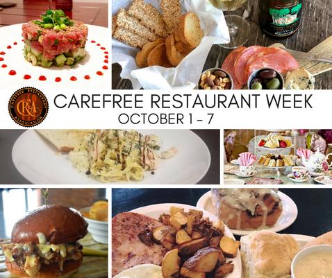 Carefree Restaurant Week 2018