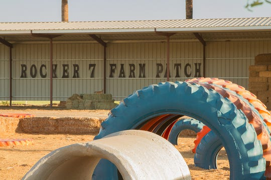 The Rocker 7 Farm Patch has activities for the entire family to enjoy.