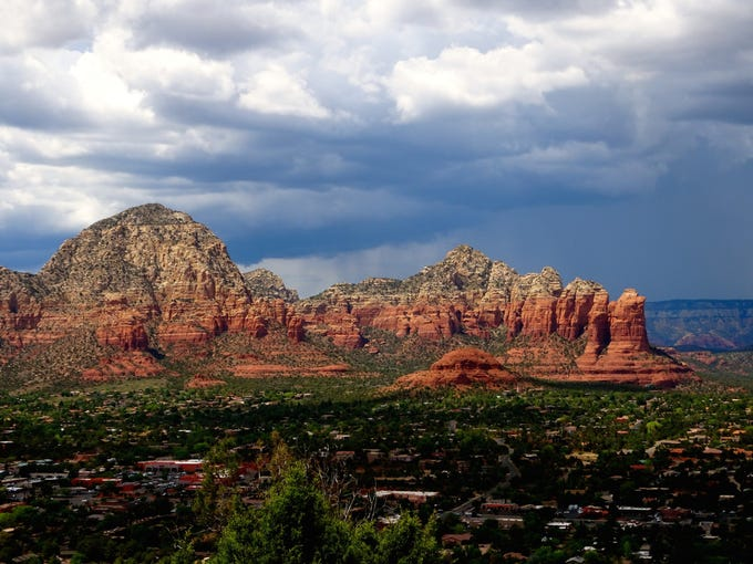 The Sedona View Trail delivers just what the name promises.
