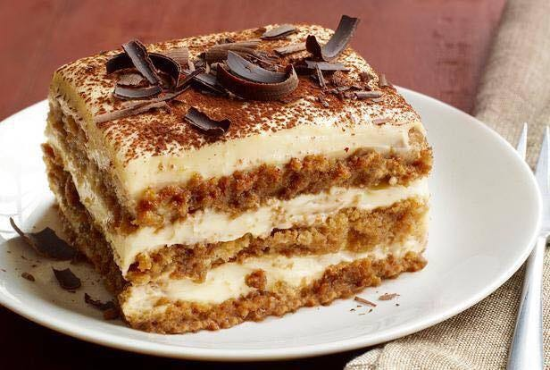 Add tiramisu to your meal at Corrado's Cucina Italiana in Carefree.