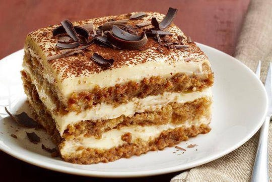 Add tiramisu to your meal at Corrado's Cucina Italiana in Carefree.