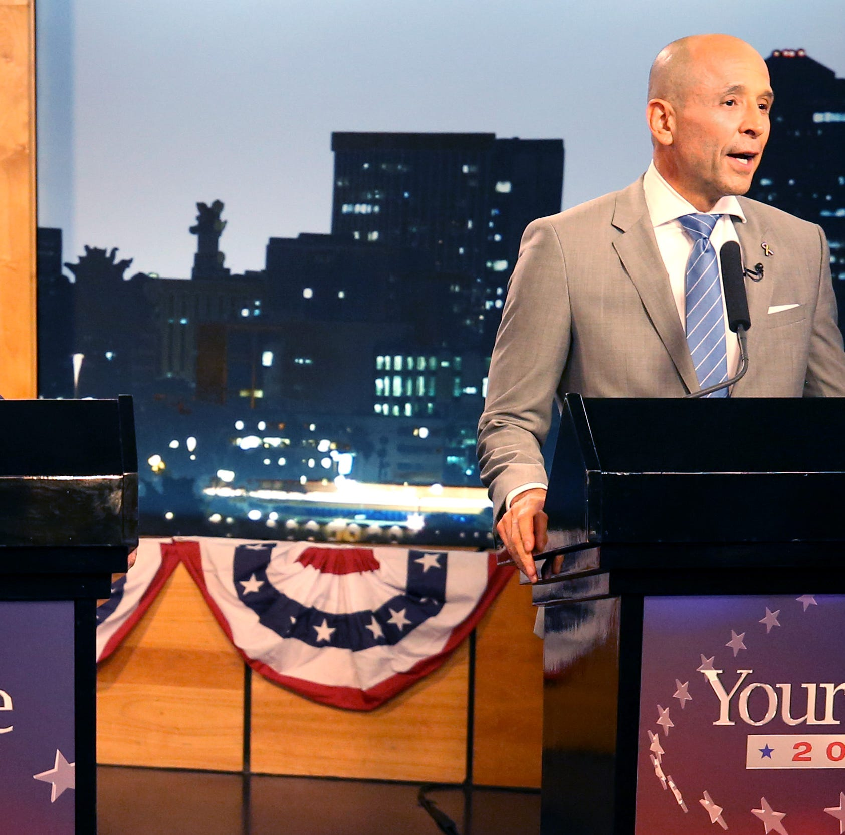 Gov. Doug Ducey, David Garcia battle on issues of education and immigration in second debate