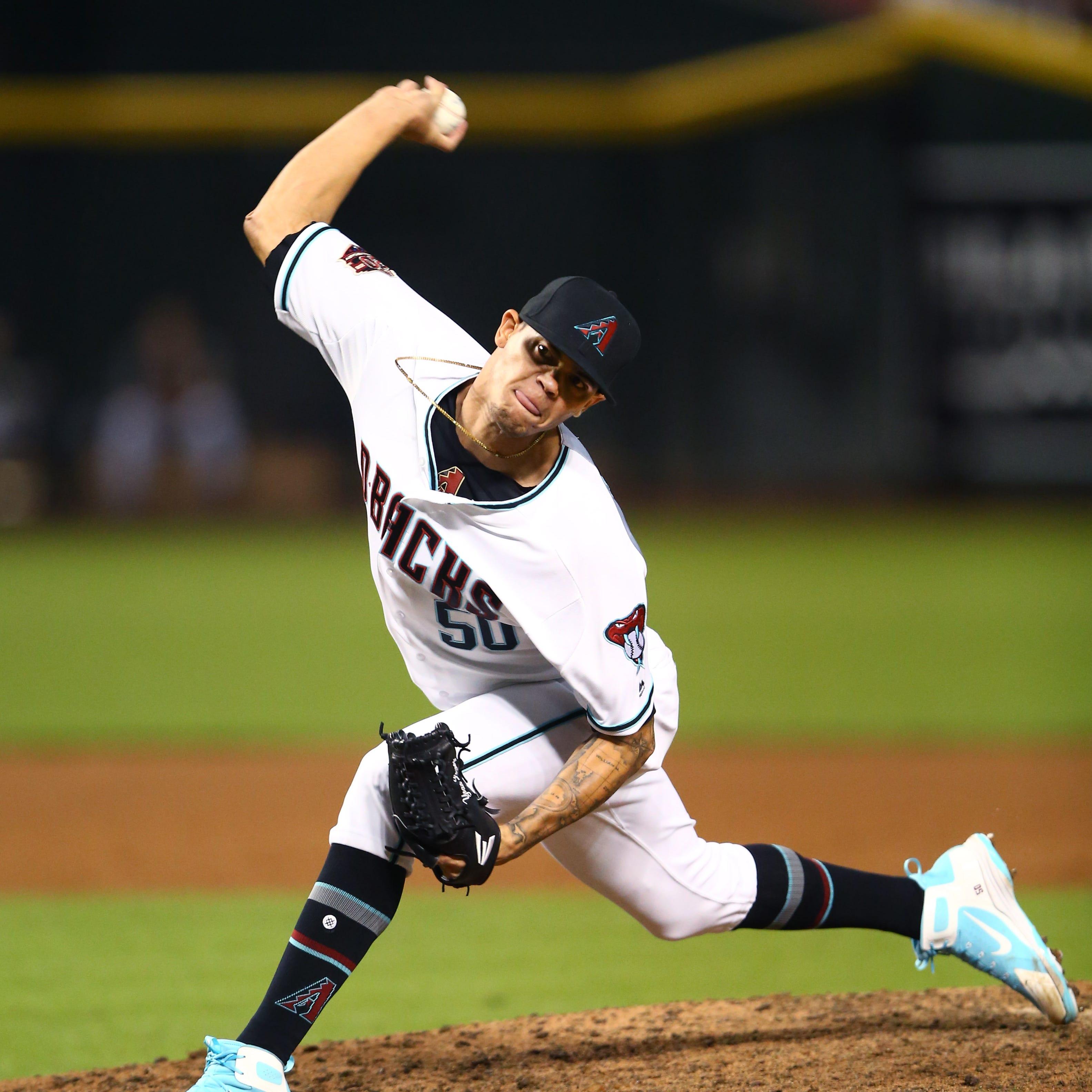Yoan Lopez flashes power, bravado as Diamondbacks beat Dodgers