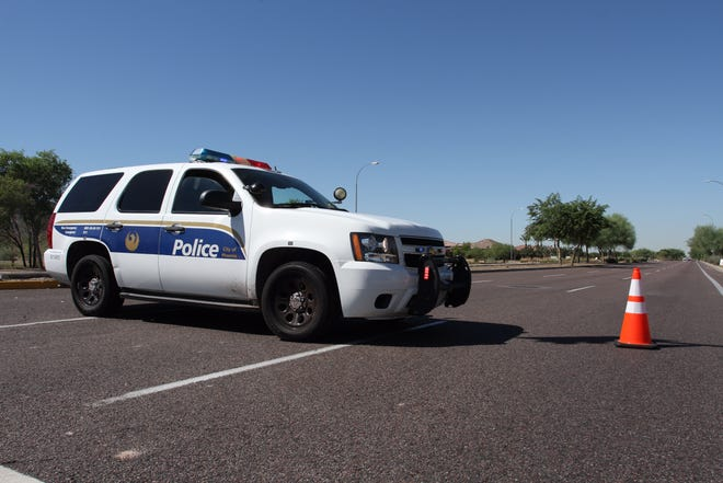 The Phoenix Police Department is investigating a collision that shut down Baseline Road for a short time Wednesday morning.