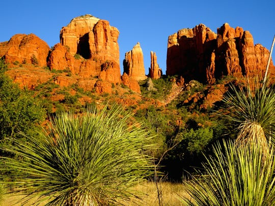 The Baldwin Trail offers a variety of looks at Sedona's Cathedral Rock.