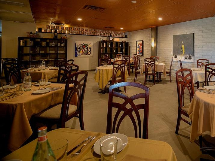 The dining room at Corrado's Cucina Italiana in Carefree.