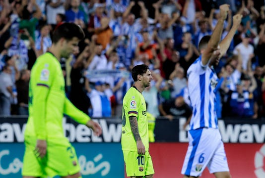 Cd Leganes V Fc Barcelona La Liga