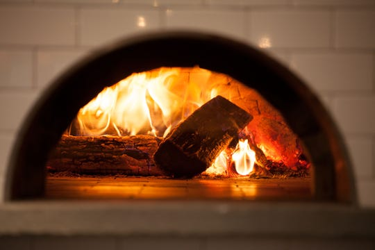 Market Street in Rhinebeck offers a menu of pizza that come from this pizza oven.