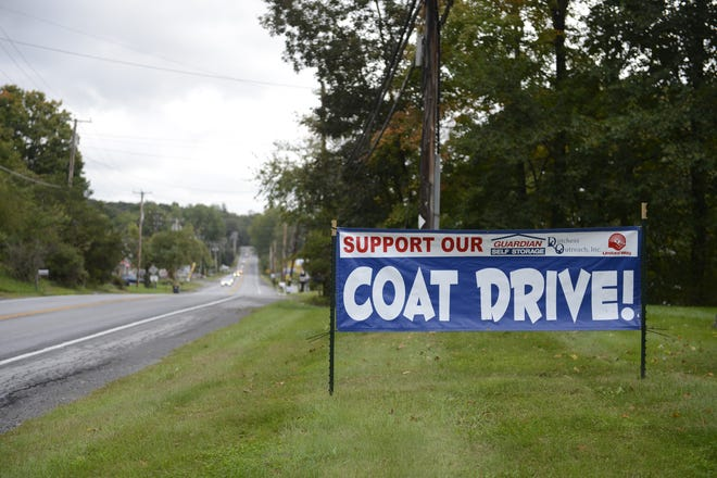 A coat drive will be held in Dutchess County from Monday until Oct. 31 in hopes of providing winter coats for more than 5,000 county residents.