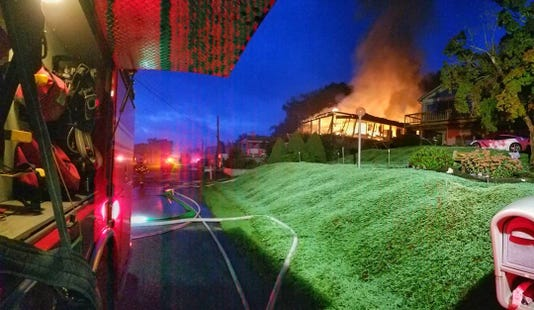 Boat House Road house fire
