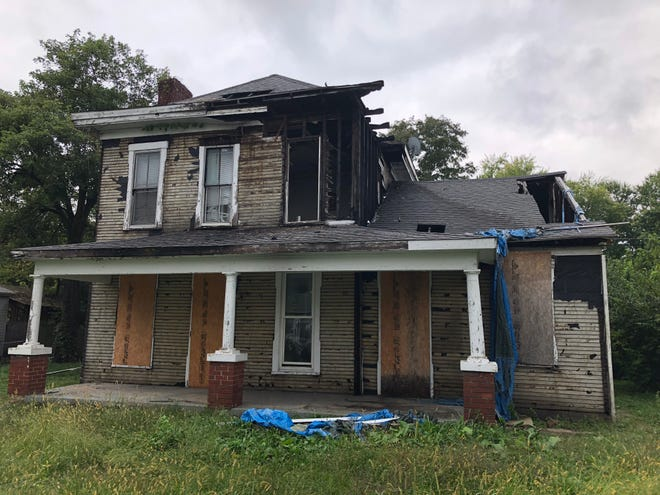 This house at 1220 Ridge St. will be torn down soon as part of Richmond's Blight Elimination Program.