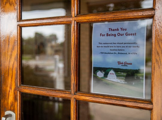Bob Evans, 401 Commerce Road, sits closed on Richmond's east-side on Wednesday, Sept. 26, 2018.