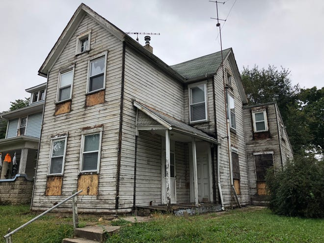 Richmond officials are working to crack down on code violations in an effort to keep homes from deteriorating as badly as this property at 913 S. Seventh St. that was part of the Blight Elimination Program.