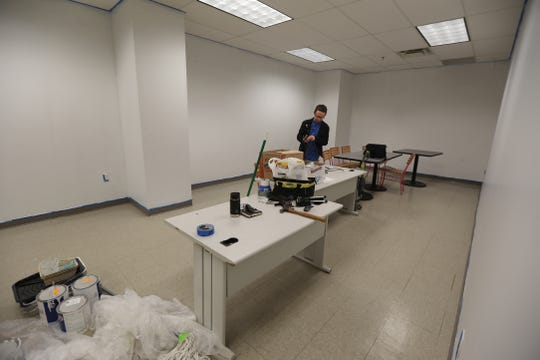 Rob Mostyn, director of Roc Game Dev is moving into their area that they are leasing.  Rent for them at Sibley Square is tied to their growth.  Roc Game Dev is a niche co-working space focused on local video game developers for students, hobbyists, and professional developers to brainstorm together
