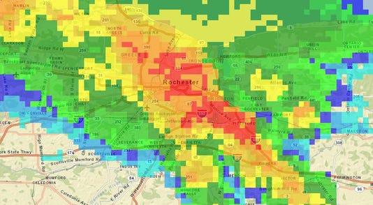 Radar Image 9 25 1145pm