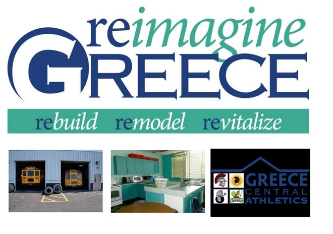 Greece Central School District's Reimagine Greece logo