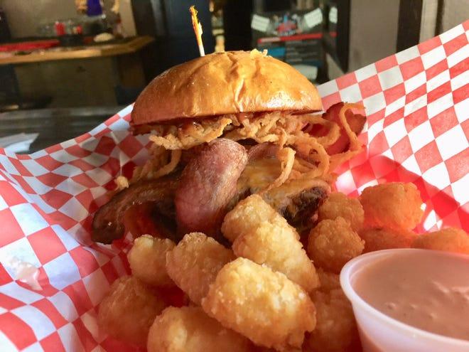 All Stars' popular Western burger.