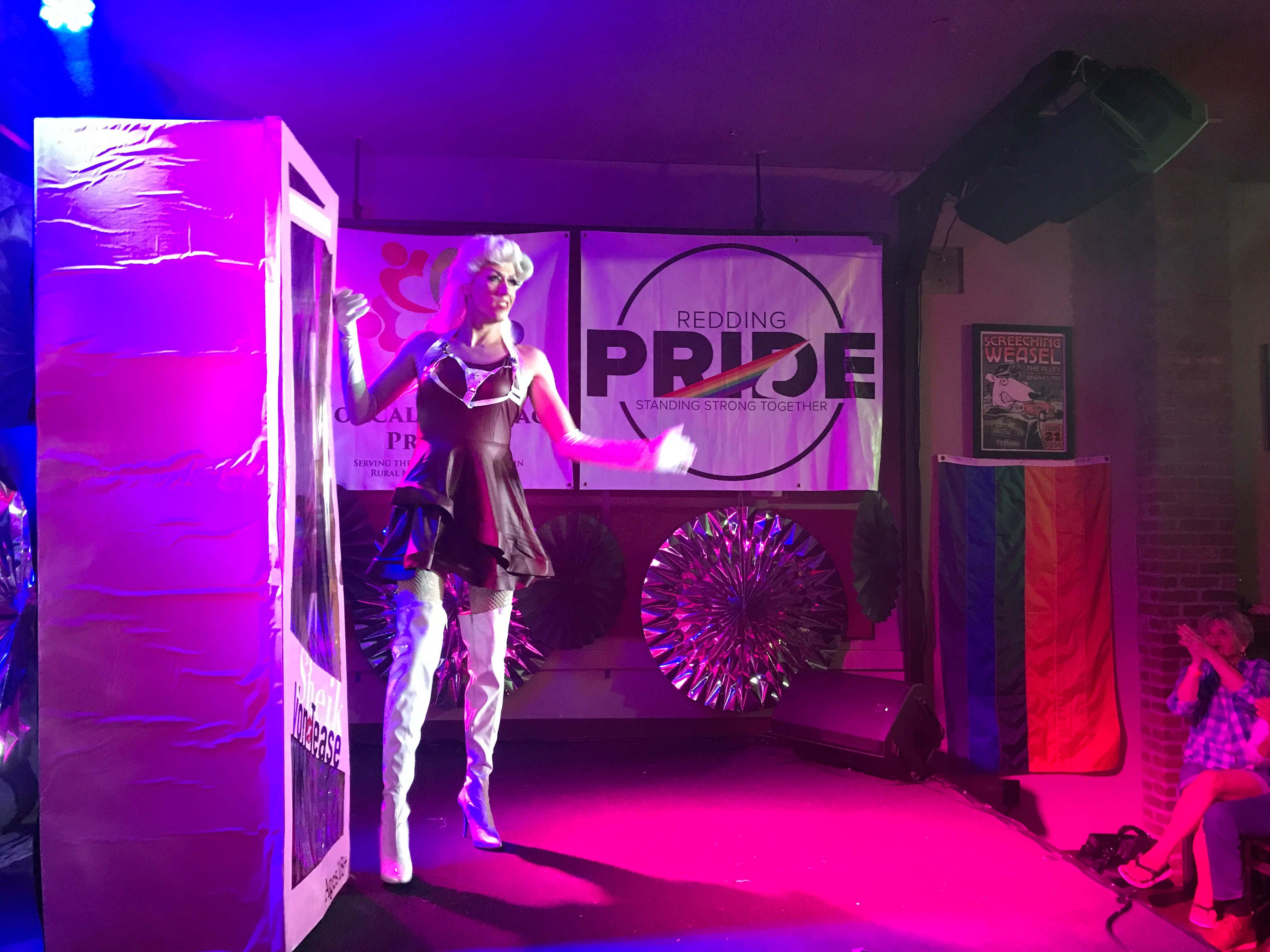 The Dip in Redding hosted a drag queen performance July 21, 2018.