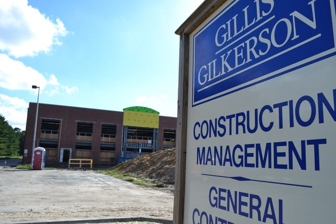 The former Labinal Power Systems property on Glen Avenue in Salisbury is being developed and will include a new family fitness center.