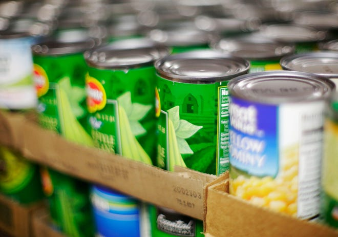 Canned goods.