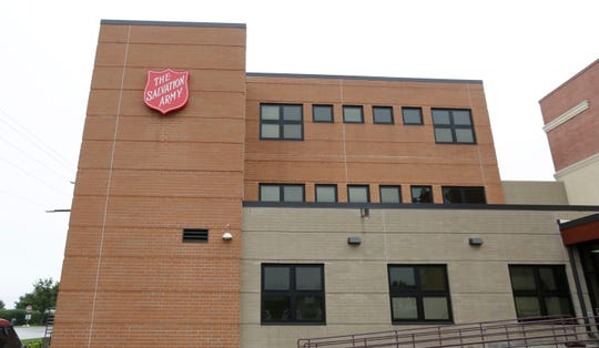 The exterior of the Sheboygan Salvation Army headquarters as seen, Thursday, September 20, 2018, in Sheboygan, Wis.