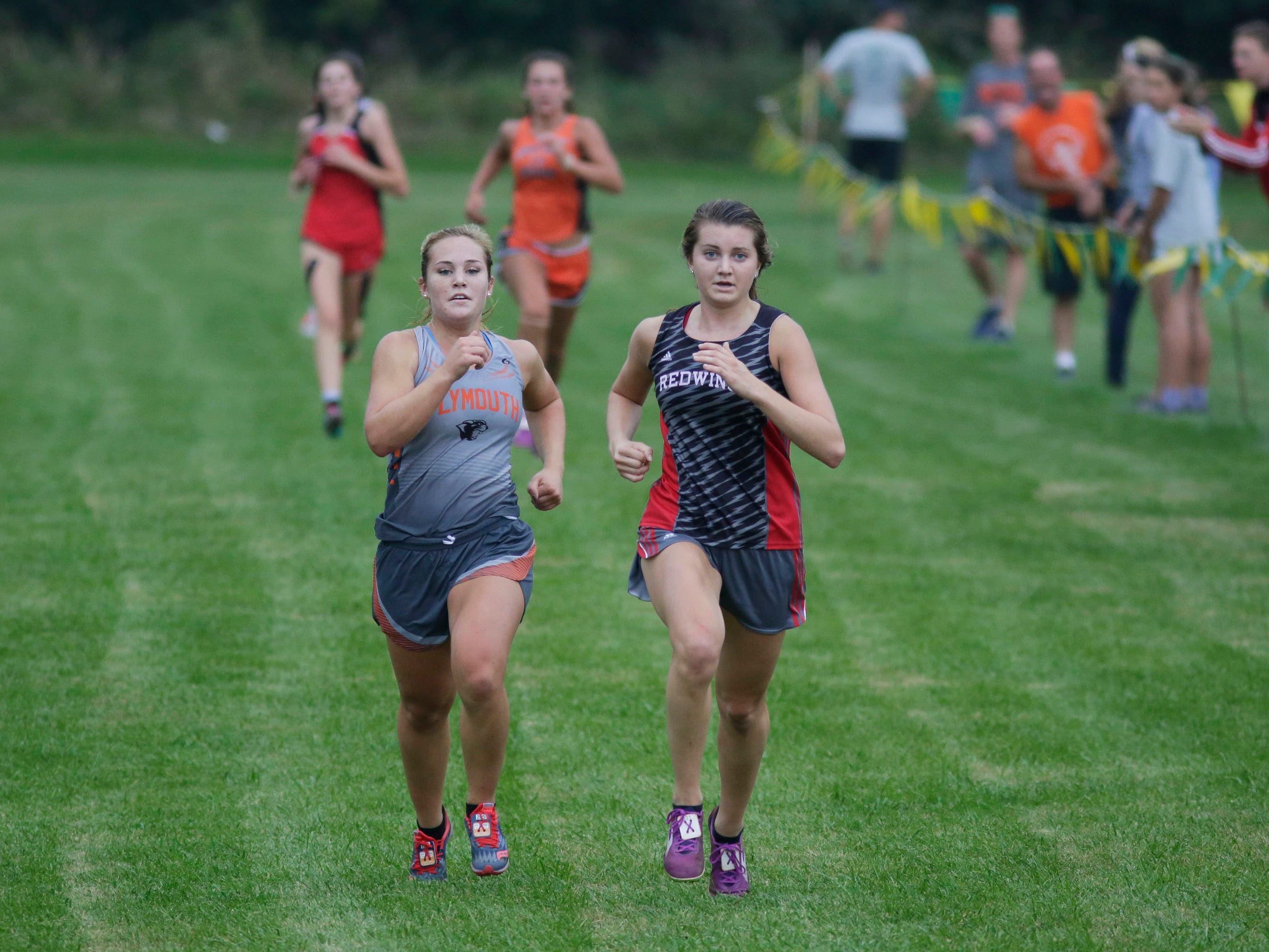 A scene from the Sheboygan Country Cross Country Invitational, Tuesday, September 25, 2018, in Sheboygan, Wis.