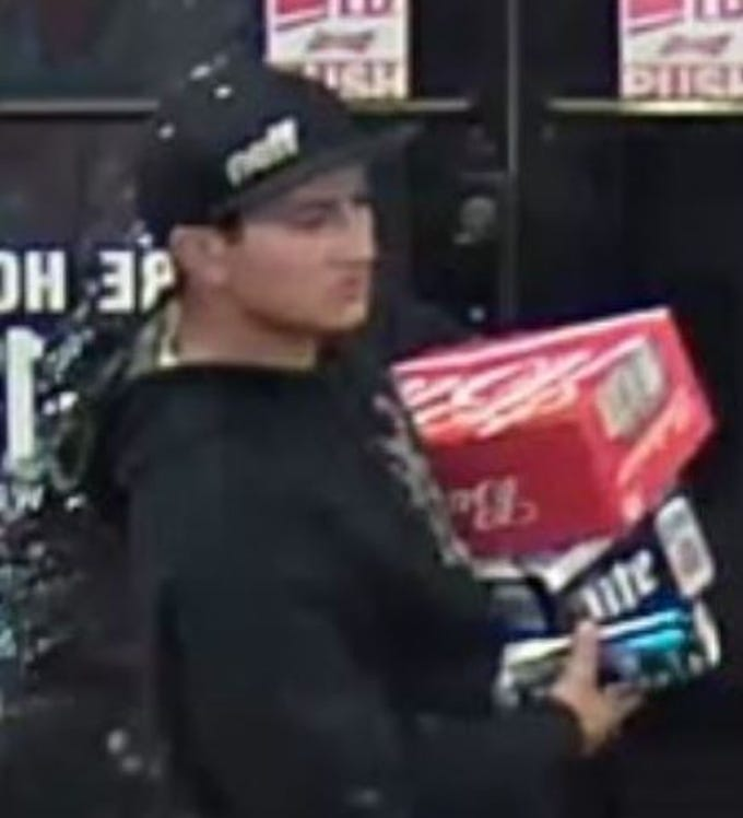 The Sioux Falls Police Department is looking for the public's help in identifying the subject(s) in reference to a theft on September 21. If you know the subject(s) please contact CrimeStoppers at 367-7007 or call the Sioux Falls Police SFPD CC#18-34752.