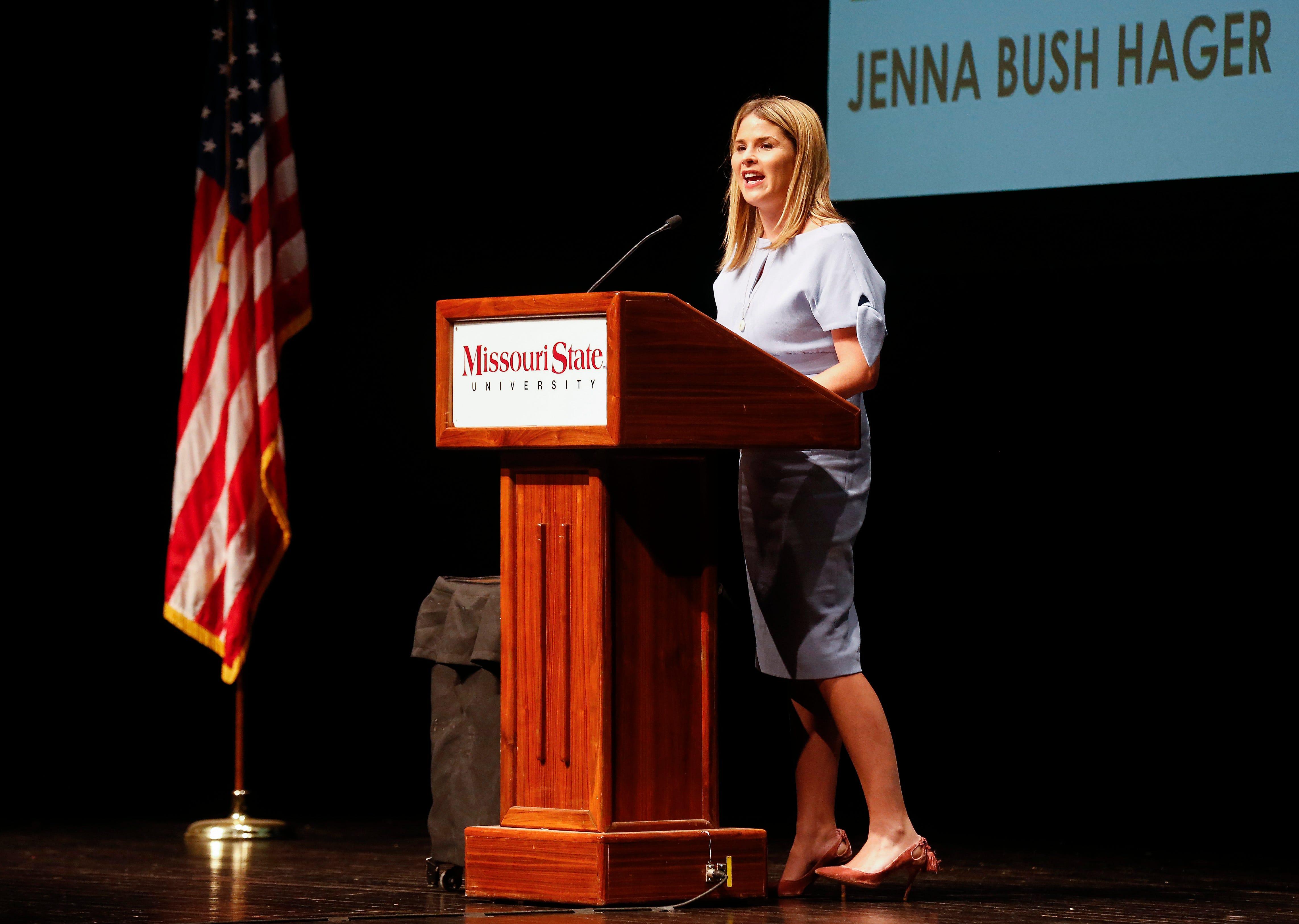 NBC's Jenna Bush Hager Missouri