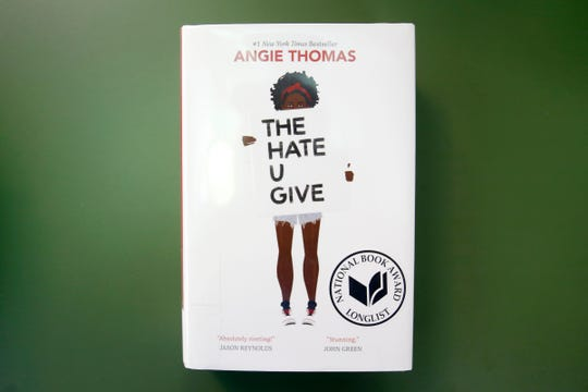 """The Hate U Give,"" written by Angie Thomas, is on the list of most challenged books in 2017."