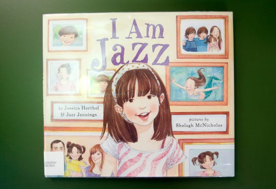 """I Am Jazz,"" written by Jessica Herthel and Jazz Jennings and illustrated by Shelagh McNicholas, is on the list of most challenged books in 2017."