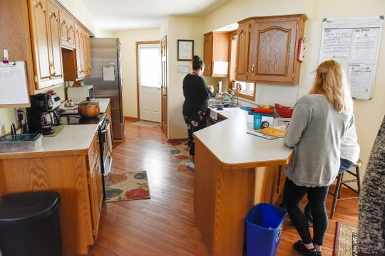Staff takes care of the daily operation at  Terebinth Refuge Wednesday, Sept. 26, which is a safe place for victims of sex trafficking.