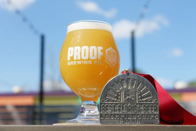 Proof will have a limited edition release starting Oct. 4 of Tropical Uprising New England IPA, which won a silver medal in the Best Florida Beer Competition earlier this year.