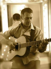 Fingerstyle guitar wizard Sam Pacetti hits Blue Tavern Friday.