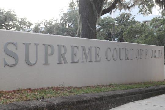 Supreme Court of Florida building exterior, Sept. 26, 2018.