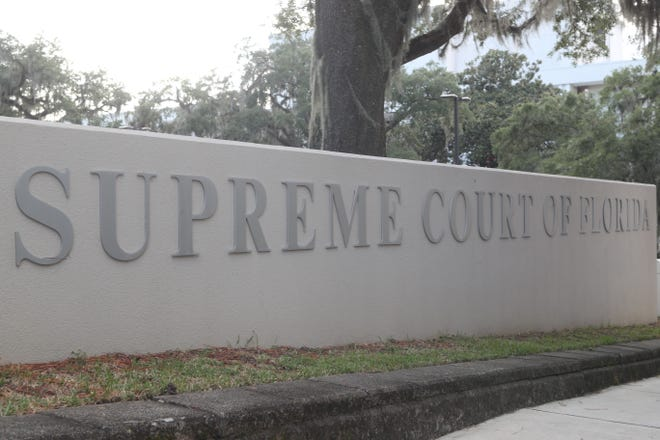 Supreme Court of Florida building exterior, Sept. 26, 2018.