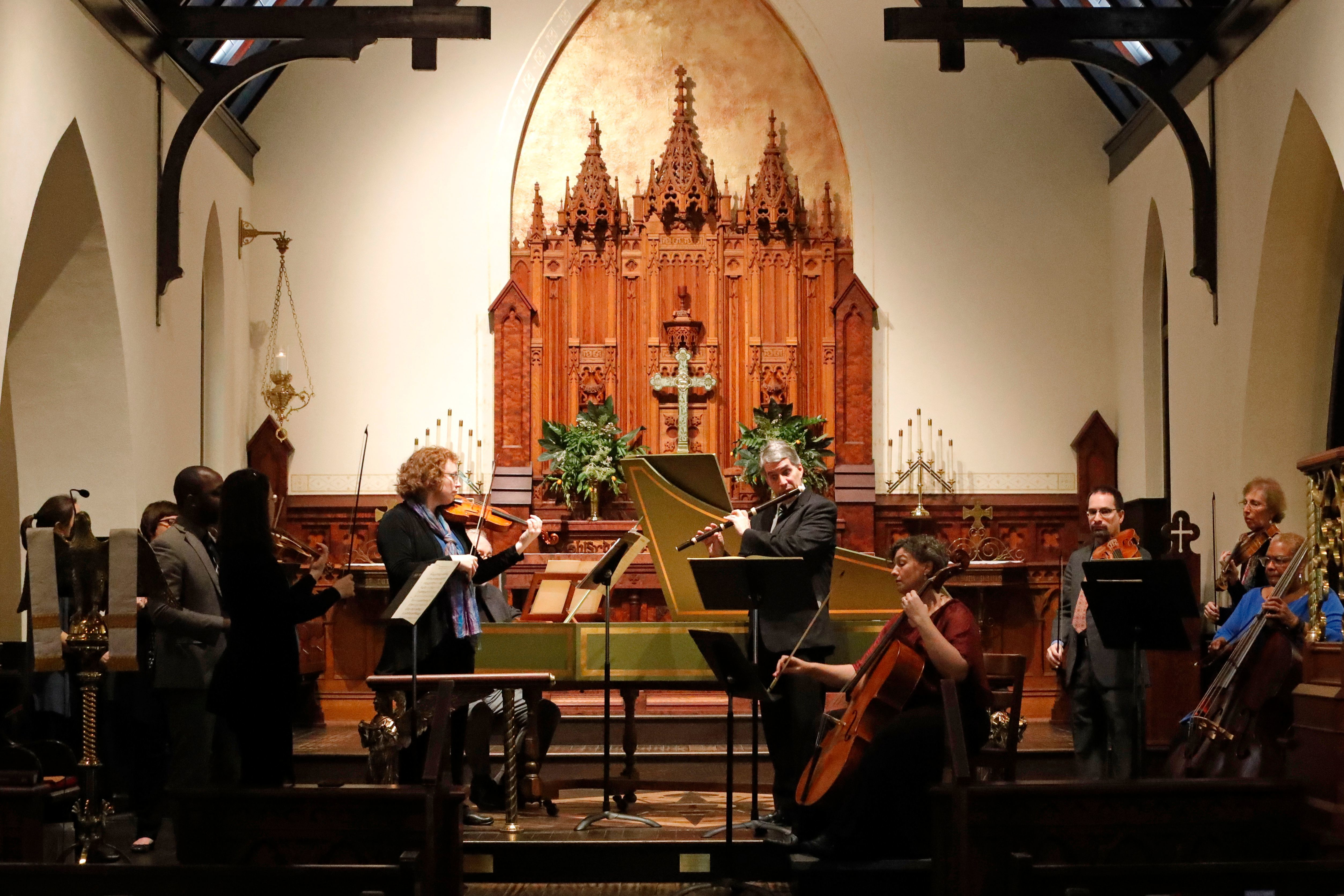 The Tallahassee Bach Parley kicks off its 38th concert season Sunday.