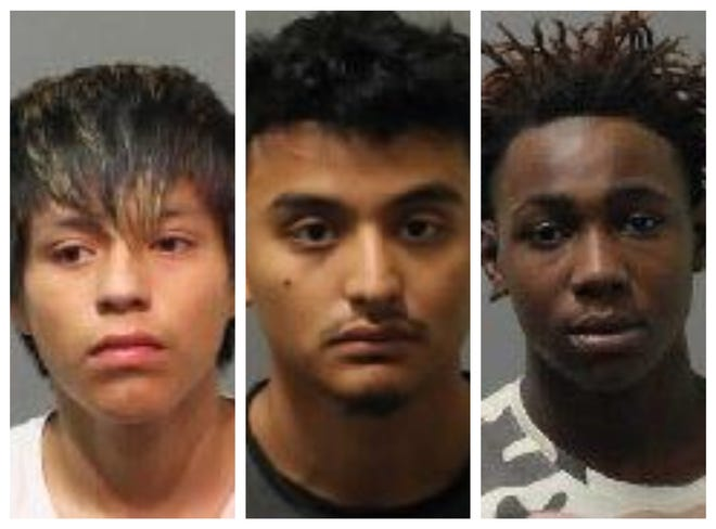 The Tallahassee Police Department and Leon County Sheriff's Office say that, from left, Enrique Almanza, 16, Eduardo Morales, 17, and Kadeem Phillips, 16, are connected to incidents in Killearn, near North Meridian Road and the Live Oak Plantation areas and Mosswood Chase, a small neighborhood off Maclay Road.