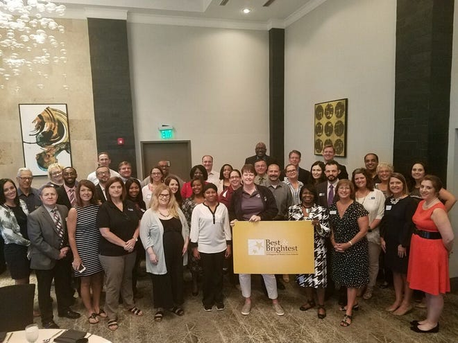 Key school leaders gathered at Hotel Duval Wednesday for the kick off of the 14th year of Best & Brightest Awards.